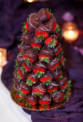 Healthy Wedding Cake option