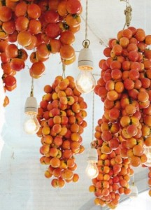 Using tomatoes for wedding