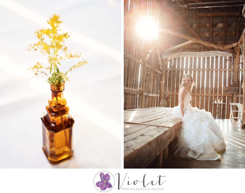 Romantic Enchanted Rustic Barn Wedding