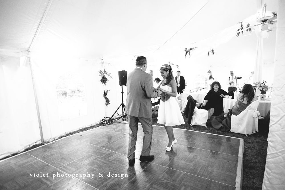 Bride & Father dance