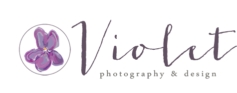 Violet Photography & Design | Altoona, WI Lifestyle Photographer logo