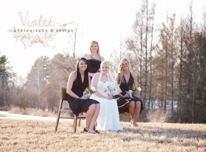 Formal Bridesmaids Photography