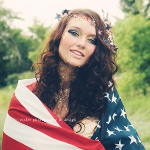 photographer session 4th of July stylized inspiration shoot